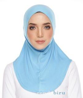 Cotton Lycra Inner Cerulean Blue