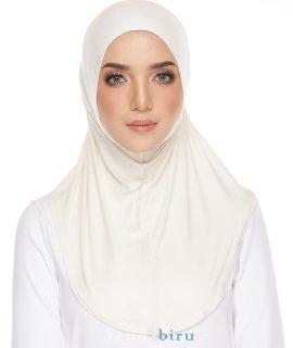 Cotton Lycra Inner Pearl White