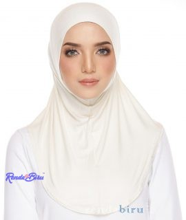 Cotton Lycra Inner | Pearl White