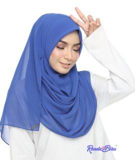 2Loops Bawal Chiffon | Royal Blue
