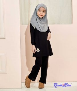 LILLY KIDS SET | BLACK