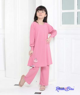 LILLY KIDS SET | PINK BELACHAN