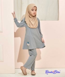 LILLY KIDS SET | GREY